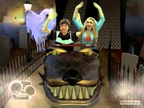Disney Channel Hungary Halloween Idents 2013