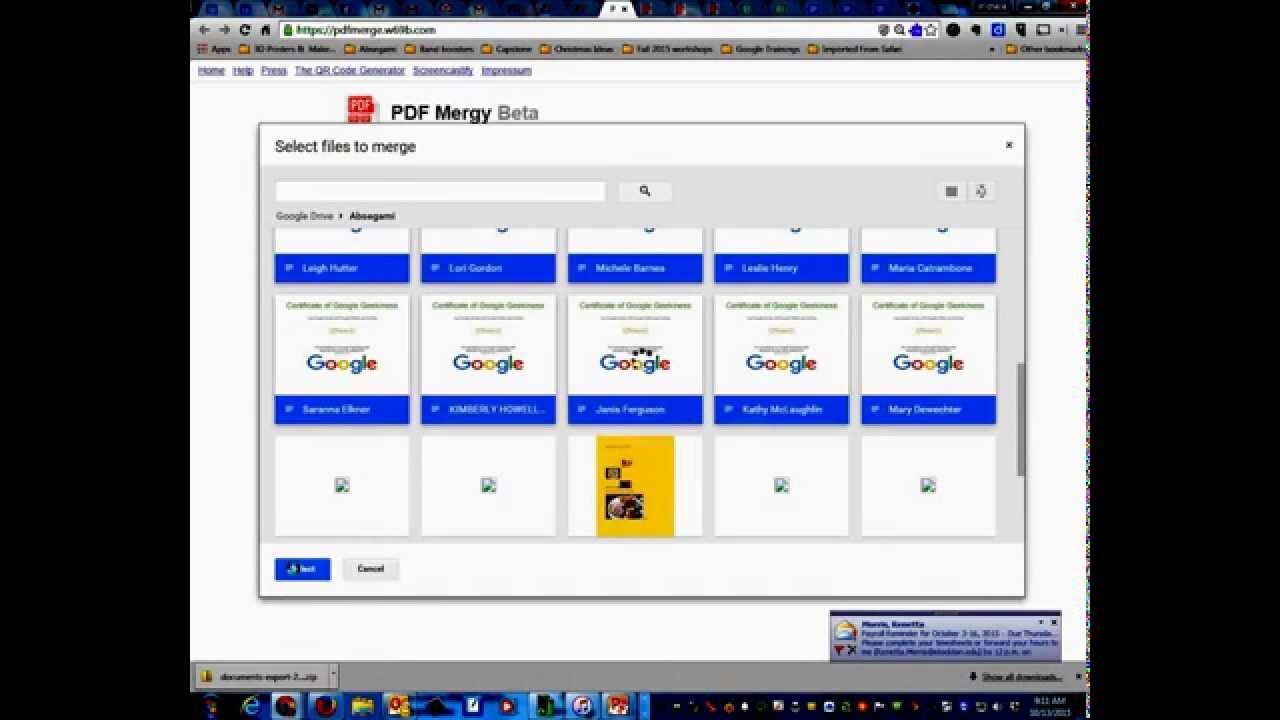 how to add pdf file to google docs