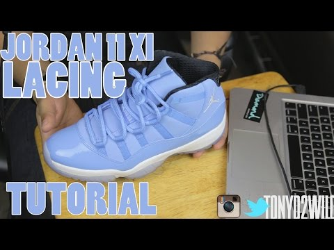 How To Lace Jordan 11s XI (2 Styles)