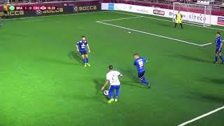 HRVATSKA vs BRAZIL 0:1 (2. kolo, Socca Svjetsko prvenstvo 2019.)