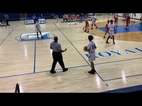 Alcoa Middle School Basketball Boys Varsity vs South Doyle 19 Dec 2018