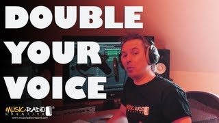 Double Up Your Voice In Adobe Audition
