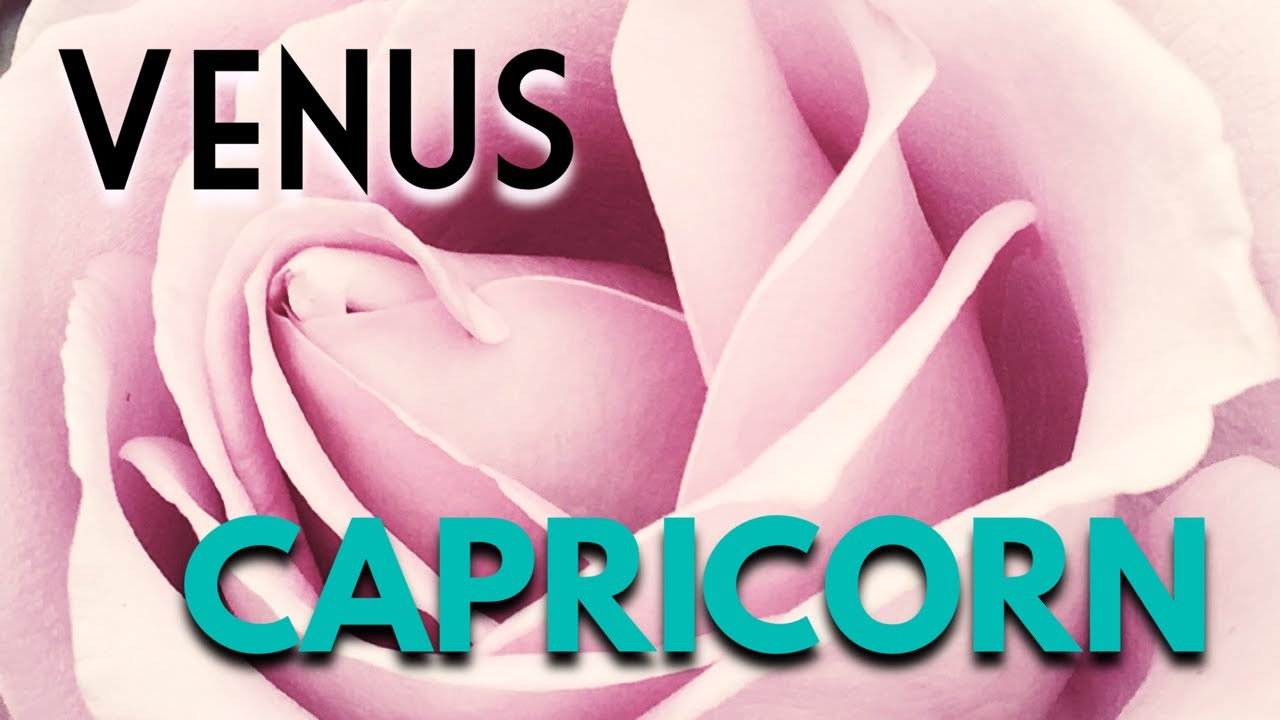 Dating venus capricorn