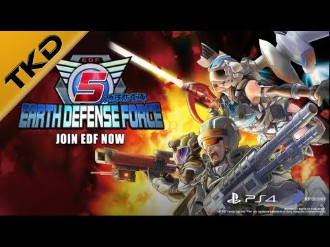First Impressions! Earth defense force 5! thumbnail