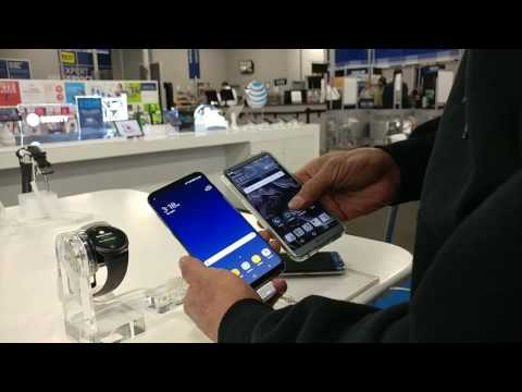 Samsung Galaxy S8/S8+ HANDS ON!@Best Buy Pics & Video Footage.. Vlogin With my Wife..