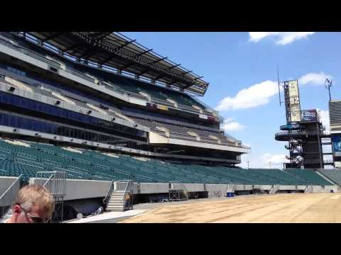 Tour of Lincoln Financial Field