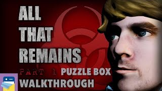 All That Remains: Part 1 - Puzzle Box Walkthrough Guide & Gameplay (by Glitch Games)