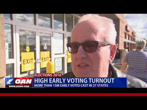High Early Voting Turnout