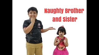 #Naughty Brother and Sister|# Funny Pranks of Brother and sister | Brother and Sister Show