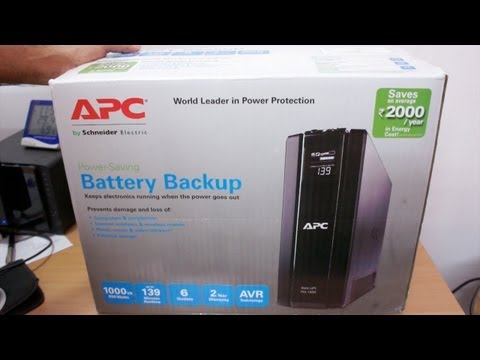 APC 1 KVA UPS BR1000G-IN Unboxing & Overview