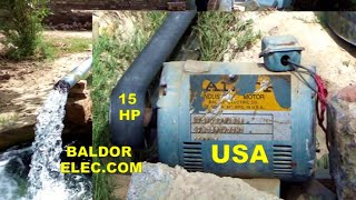 Super Solar Tube well System 15 Hp Motor  made in USA 5 inch Delivery