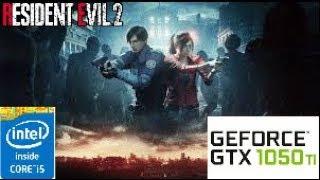 RESIDENT EVIL 2:GTX 1050 TI 4GB I5 4460