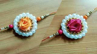 New Unique Rose Rakhi design 01
