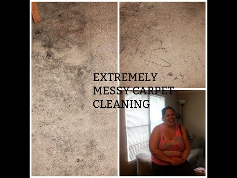 EXTREMELY DIRTY CARPET CLEANING | CONTEST WINNER ANNOUNCEMENT