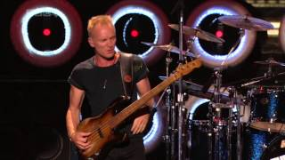Sting.The Police - Roxanne BBC HD Live Earth