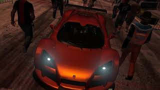 Need For Speed Shift 2 Unleashed DLC SpeedHunters Race 14 Standing Mile Drag World Championship