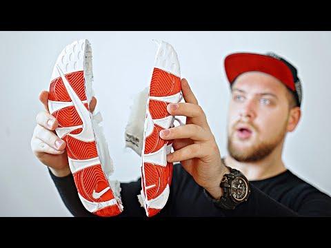 Разрезал Кроссовки Nike купленные на AliExpress за 1500р.!