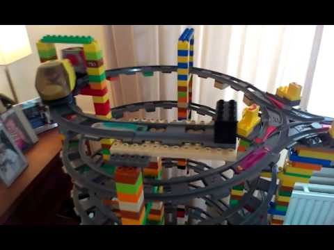 Duplo Intelli Train Mega Circuit 9 Levels