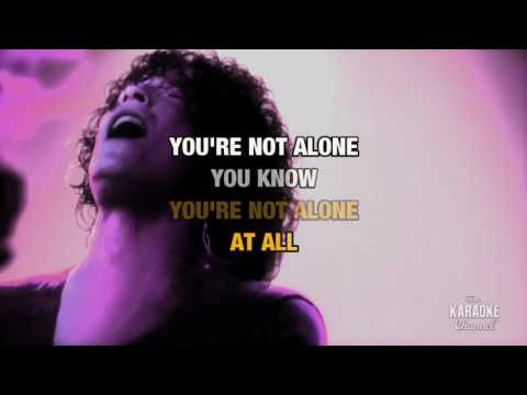 You're Not Alone in the style of Enemy, The | Karaoke with Lyrics