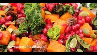 Kale Salad Vegan - Raw Kale Salad Recipe - Best Kale Salad Ever