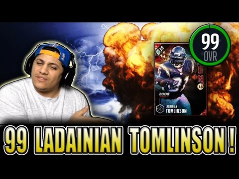 IS LT EVEN WORTH IT?! (99 LADAINIAN TOMLINSON GAMEPLAY) - MADDEN 17 ULTIMATE TEAM