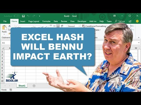 Will Bennu Impact Earth? Excel Hash - Podcast 2141