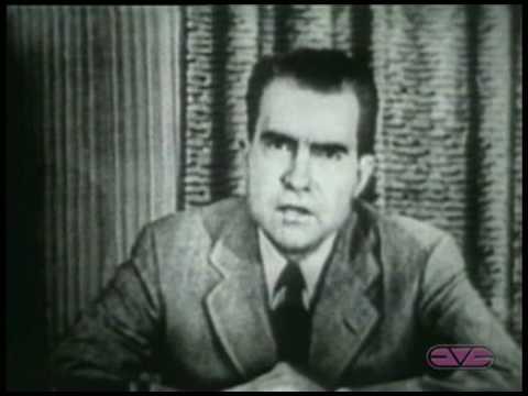 "Richard Nixon delivers ""Checkers"" Speech"