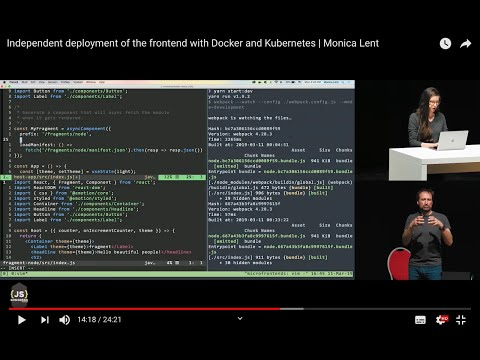 27. Independent deployment of the frontend with Docker and Kubernetes
