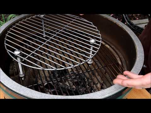 Big Green Egg Raised Grate- EASY DIY Project!