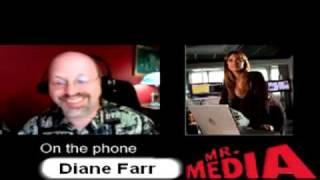 Actress Diane Farr of Rescue Me, Californication, Numb3rs 5 of 5 (Interview)