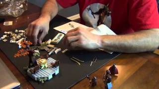 Live Build - The Council Of Elrond Lego Lord Of The Rings 79006