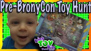 Pre-BronyCon Toy Hunt | Bins Toy Bin Family Vlog #10!