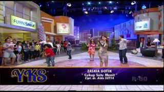 ZASKIA GOTIX [Cukup 1 Menit] Live At Yuk Keep Smile YKS (30-01-2014) Courtesy TRANS TV