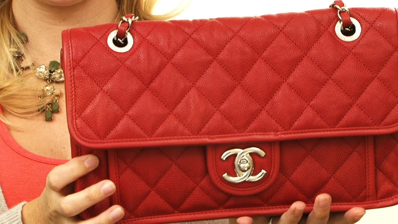77a78b75b900 Heather's Couture Corner - In Depth Review of the Chanel French Riviera Flap  Bag