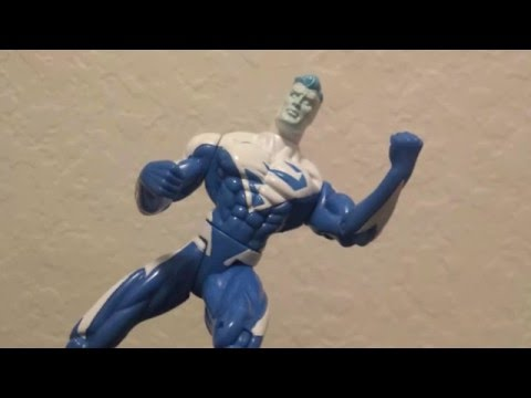 DC Super Heroes Superman Blue Action Figure Review