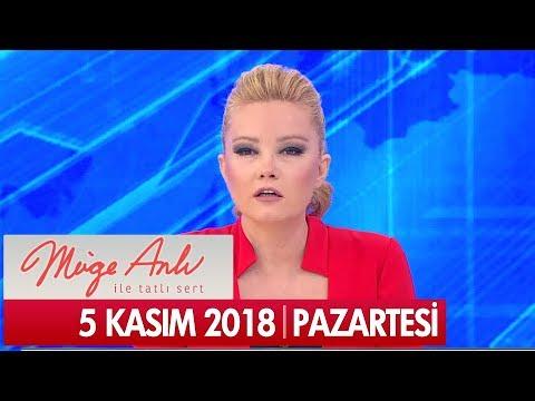 Müge Anlı ile Tatlı Sert 5 Kasım 2018 - Tek Parça