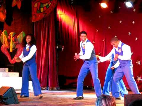 Chocolate dance from Dominican Republic (17.12.2008)