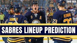 Predicting the Buffalo Sabres Opening Night Lineup | NHL 2019-20 Season