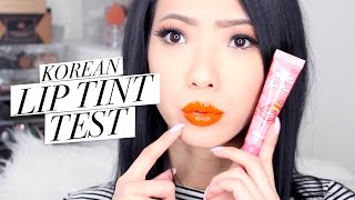 Korean Lip Tints! 💋 Tried and Tested