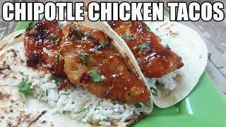 Chipotle Chicken Tacos Recipe
