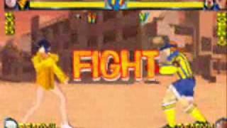 Rival Schools - Kyoko Minazuki gameplay
