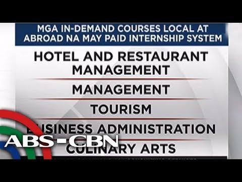 TV Patrol: Mga kursong may 'paid internship'
