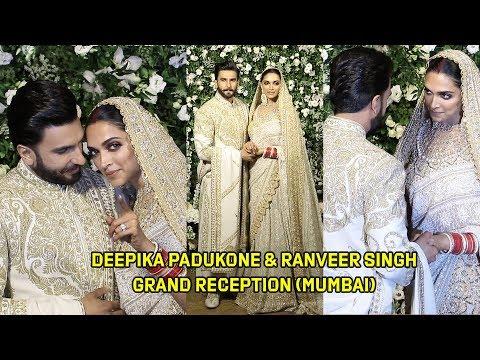 Deepika Padukone & Ranveer Singh GRAND Wedding Reception In Mumbai
