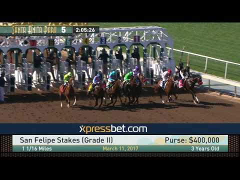 San Felipe Stakes (Gr. II) - March 11, 2017