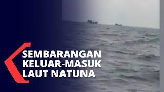 Bakamla Usir Kapal Asing yang Keluar-Masuk Laut Natuna