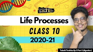 Life Processes Class 10 Science Biology | (Part -I ) Class 10 2020-21 | Tababhi Tenthies Season - I