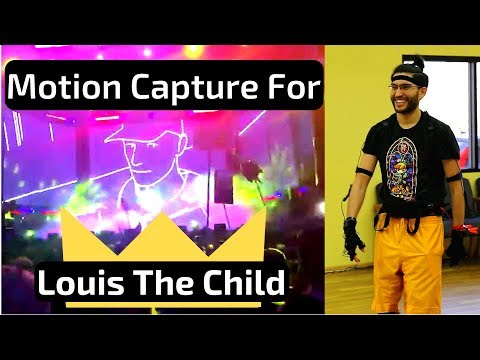 Live Performance vs. Motion Capture for Louis The Child's