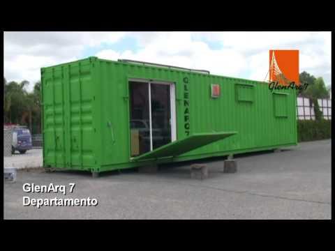 Departamento en contenedor maritimo youtube for Arquitectura contenedores maritimos