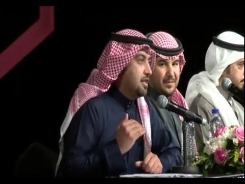 الشاعر السعودي بدر اللامي في هلا فبراير يفاجيء الحضور بقصيدة في رئيس مجلس الأمة مرزوق الغانم Youtube