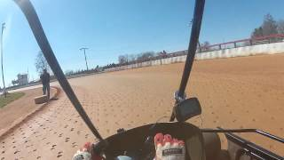 Practice at Coleridge Speedway